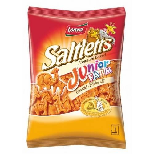 4 Pacotes de Junior Farm 125g - Biscoitos para Crianças - Lorenz