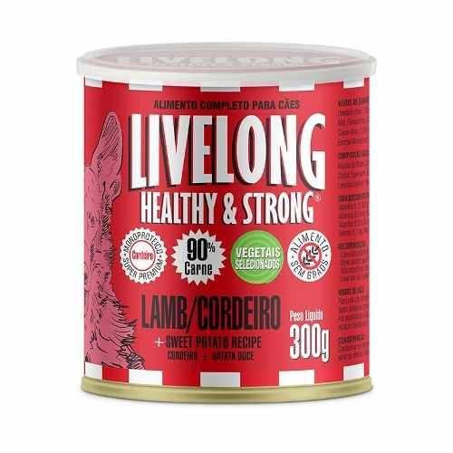 Alimento Completo para Cães Livelong Sabor Cordeiro 300g