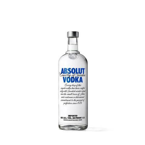 Absolut Vodka Original Sueca - 1,5l