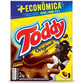Achocolatado Original Toddy 2Kg
