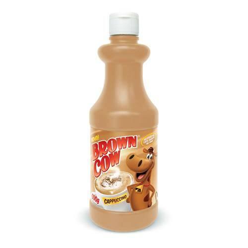 Achocolatado Solúvel Brown Cow Cappuccino 500gr Nobel Foods