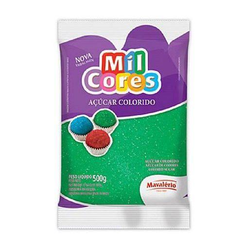 Açúcar Colorido Mavalério 500g Verde