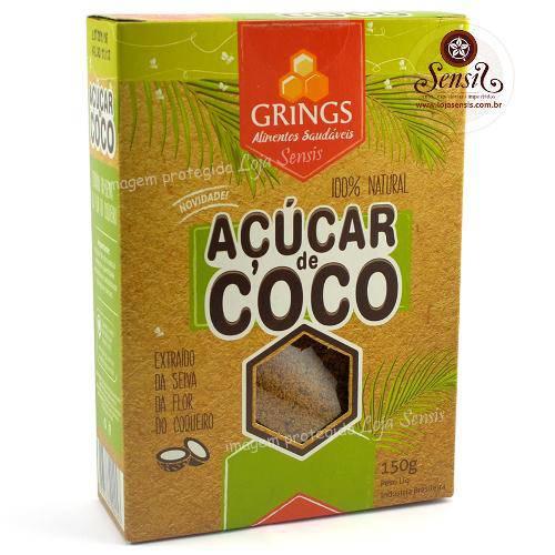 Açúcar de Coco 100 Puro 150 Gramas
