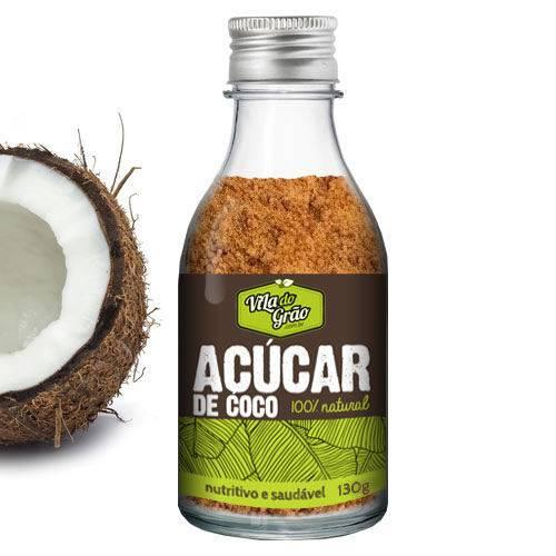 Açúcar de Coco 130g - Vila do Grão