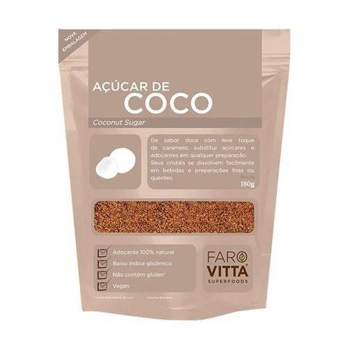 Açúcar de Coco 180g - Farovitta