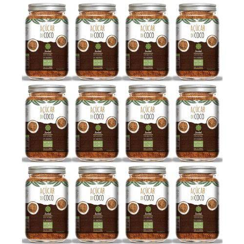 Açucar de Coco - Caixa Fechada com 12 Potes - Total: 4,2 Kg