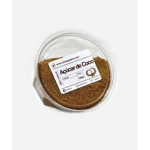 Açúcar de Coco - Clube Greens - (Pote) 200G