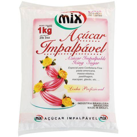 Açúcar Impalpável Kg - Mix