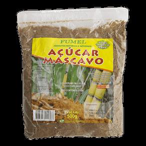 Açúcar Mascavo Fumel 500g
