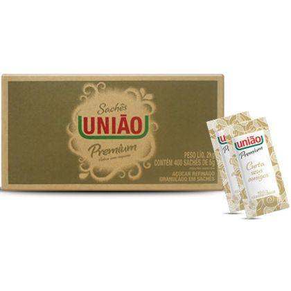 Açúcar Sachê União com 400 Unidades