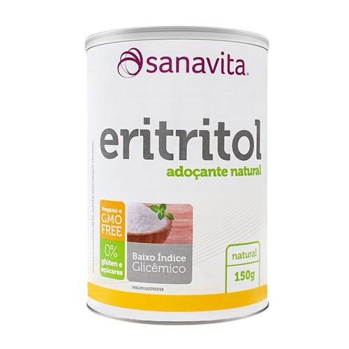Adoçante Eritritol Sanavita 150g