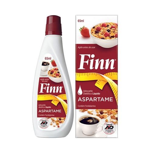 Adoçante Finn Aspartame Gotas com 65ml