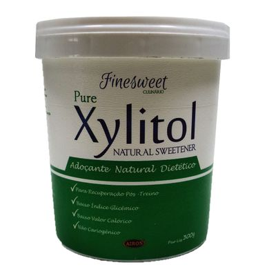 Adoçante Natural Dietético Pure Xylitol 300g - Finesweet