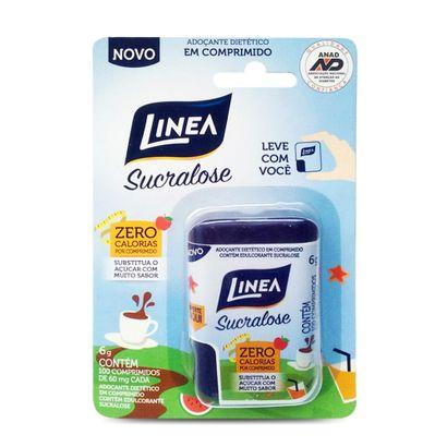 Adoçante Linea Sucralose 60mg com 100 Comprimidos