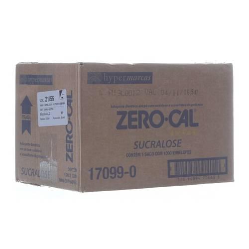 Adoçante Zero Cal Sucralose 50x0,8g