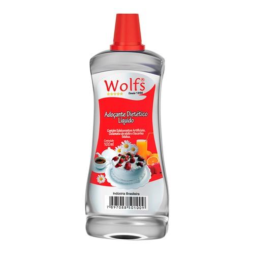 Adoçante Wolfs Ciclamato e Sacarina Sódica Gotas com 100ml