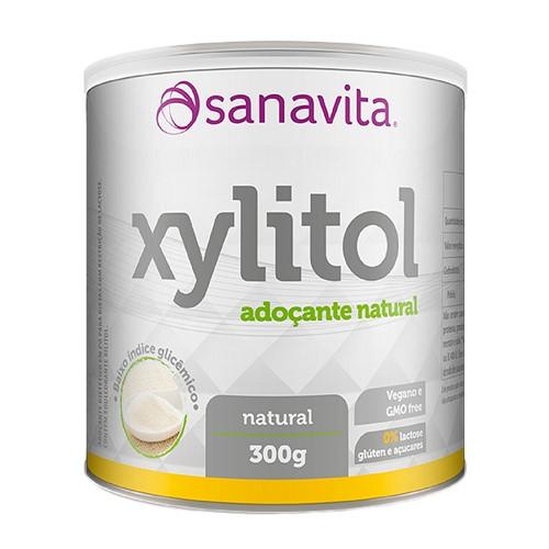 Adoçante Xylitol Sanavita com 300g