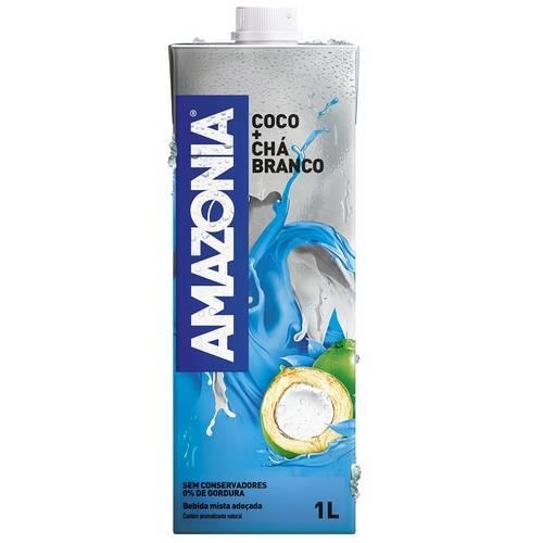 Água de Coco com Chá Branco