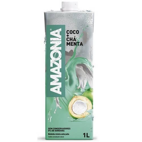 Água de Coco com Chá Menta (1 Litro)