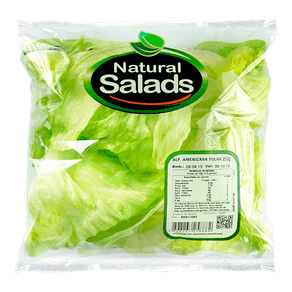 Alface Americana Natural Salads 250g