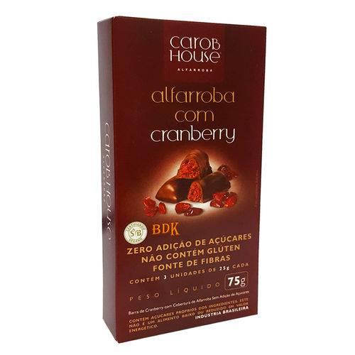 Alfarroba Barra Cranberry C/3 25g - Carob House
