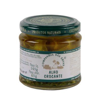 Alho Crocante 140g - Companhia das Ervas