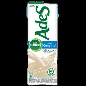 Alimento com Soja Ades Original 1l
