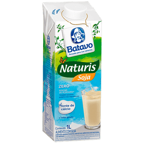 Alimento com Soja Batavo Naturis Zero 1l