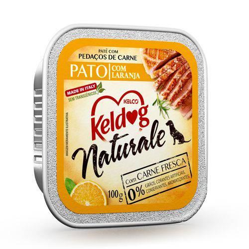 Alimento Úmido Keldog Naturale Pato com Laranja 100g