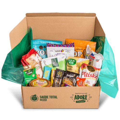 Alimentos Sem Glúten Box com 15 Produtos