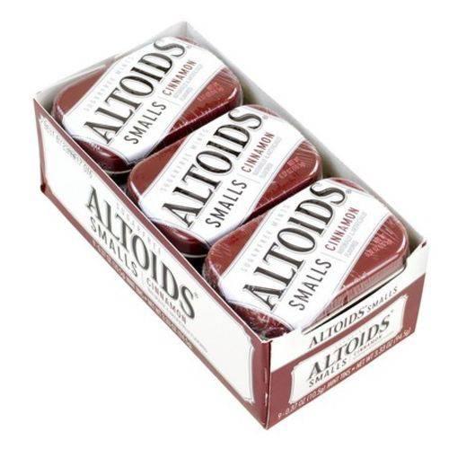 Altoids Smalls Cinnamon - Canela Sem Açúcar - 9 Unidades