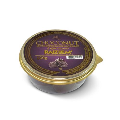 Ameixa Seca Raiz Bem 120g Diet Coberta Chocolate