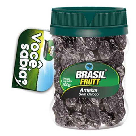 Ameixa Sem Caroço 200g - Brasil Frutt