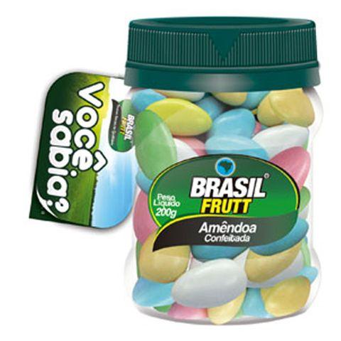 Amêndoa Conf. Colorida 350g - Brasil Frutt
