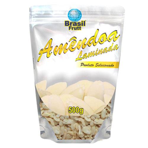 Amêndoa Laminada Brasil 350g - Frutt