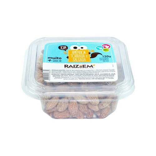 Amendoa Raiz do Bem 150g Torrada Salgada