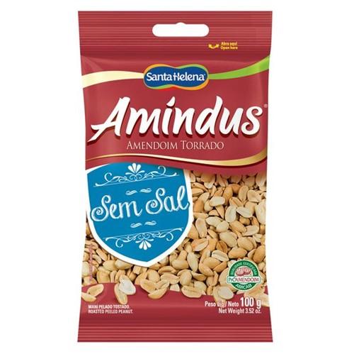 Amendoim Amindus 100g Sem Sal