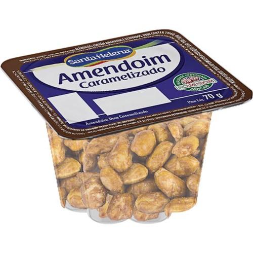 Amendoim Caramelizado Santa Helena 70g