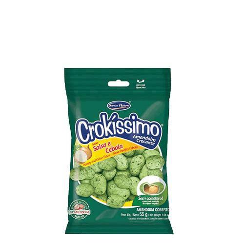Amendoim Cebola e Salsa 1kg Crokíssimo
