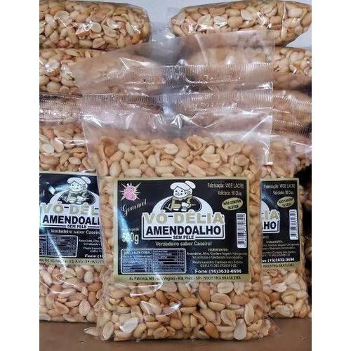 Amendoim com Alho Sem Pele - 450g