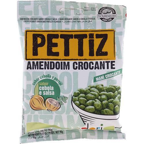 Amendoim Crocante Cebola e Salsa 90g - Pettitz