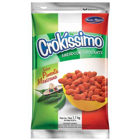 Amendoim Crocante Crokissimo Pimenta Mexicana 1,01kg - Santa Helena