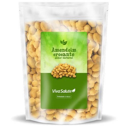 Amendoim Crocante Sabor Natural Viva Salute Embalado a Vácuo - 100 G