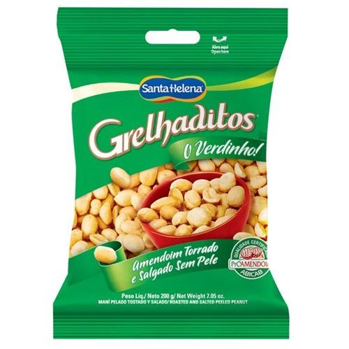 Amendoim Grelhaditos 200g Sem Pele