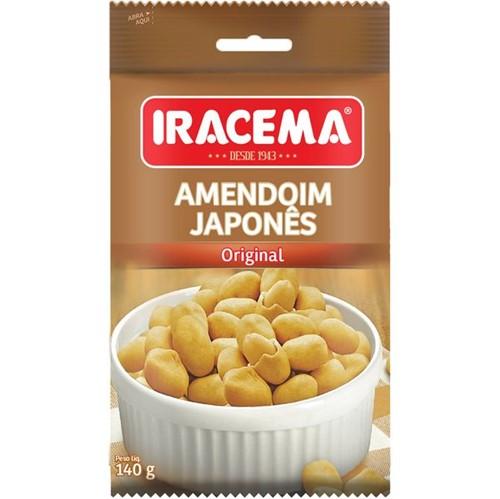 Amendoim Japones Iracema 140g