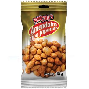 Amendoim Japonês Point Chips 45g