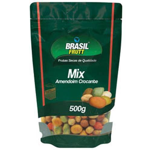 Amendoim Mix Crocante 500g - Brasil Frutt