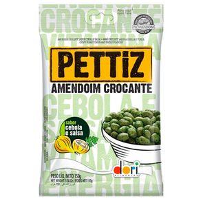 Amendoim Crocante Pettiz Cebola e Salsa 150gr