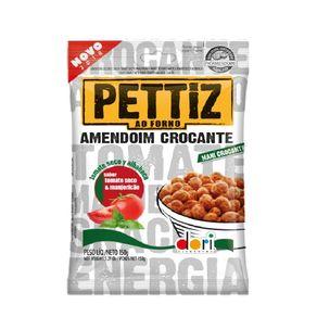 Amendoim Pettiz Crocante Sabor Tomate Seco com Manjericão Dori 150g