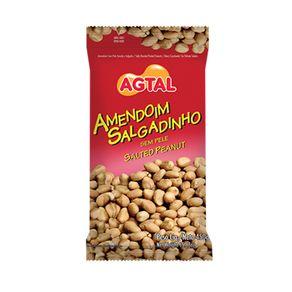 Amendoim Salgado Sem Pele Agtal 450g